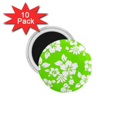 Lime Hawaiian 1.75  Magnets (10 pack)  by AlohaStore