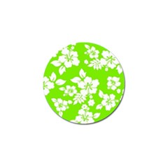 Lime Hawaiian Golf Ball Marker (4 Pack) by AlohaStore