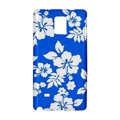 Blue Hawaiian Samsung Galaxy Note 4 Hardshell Case by AlohaStore