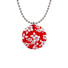 Red Hawaiian Button Necklaces by AlohaStore