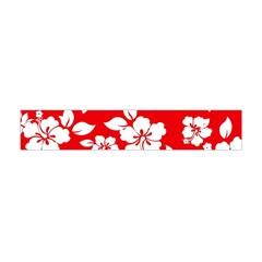 Red Hawaiian Flano Scarf (mini) by AlohaStore