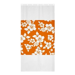 Orange Hawaiian Shower Curtain 36  X 72  (stall)  by AlohaStore