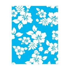 Light Blue Hawaiian 5 5  X 8 5  Notebooks by AlohaStore