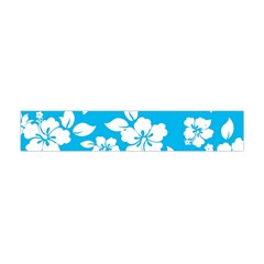 Light Blue Hawaiian Flano Scarf (mini) by AlohaStore