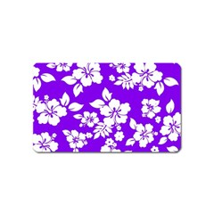 Violet Hawaiian Magnet (name Card) by AlohaStore