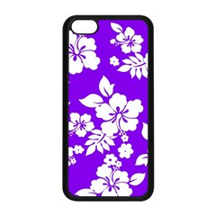 Violet Hawaiian Apple Iphone 5c Seamless Case (black) by AlohaStore