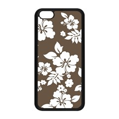 Sepia Hawaiian Apple Iphone 5c Seamless Case (black) by AlohaStore
