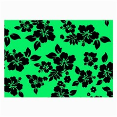 Dark Lime Hawaiian Large Glasses Cloth (2-Side) by AlohaStore