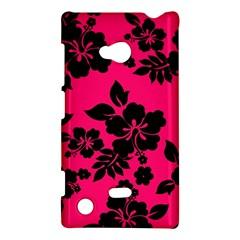 Dark Pink Hawaiian Nokia Lumia 720 by AlohaStore