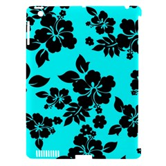 Blue Dark Hawaiian Apple Ipad 3/4 Hardshell Case (compatible With Smart Cover) by AlohaStore