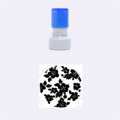 Dark Blue Hawaiian Rubber Round Stamps (small) by AlohaStore