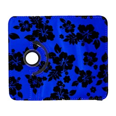 Dark Blue Hawaiian Samsung Galaxy S  Iii Flip 360 Case by AlohaStore