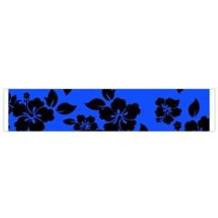 Dark Blue Hawaiian Flano Scarf (small) by AlohaStore