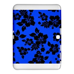 Dark Blue Hawaiian Samsung Galaxy Tab 4 (10.1 ) Hardshell Case  by AlohaStore