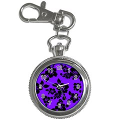 Violet Dark Hawaiian Key Chain Watches by AlohaStore