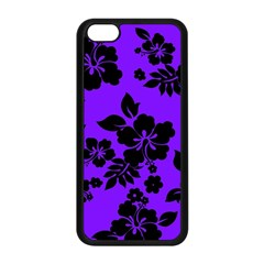 Violet Dark Hawaiian Apple Iphone 5c Seamless Case (black) by AlohaStore
