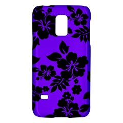 Violet Dark Hawaiian Galaxy S5 Mini by AlohaStore