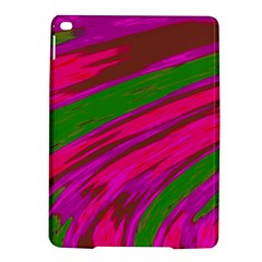 Swish Bright Pink Green Design Ipad Air 2 Hardshell Cases by BrightVibesDesign