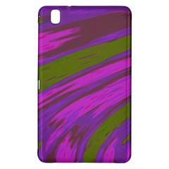 Swish Purple Green Samsung Galaxy Tab Pro 8 4 Hardshell Case