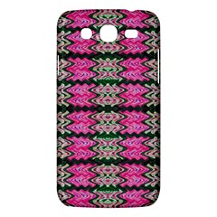 Pattern Tile Pink Green White Samsung Galaxy Mega 5 8 I9152 Hardshell Case  by BrightVibesDesign