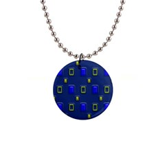 3d Rectangles                                                                      1  Button Necklace by LalyLauraFLM