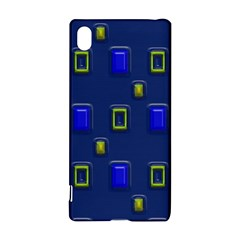 3d Rectangles                                                                      			sony Xperia Z3+ Hardshell Case by LalyLauraFLM