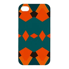 Rhombus And Other Shapes                                                                      Apple Iphone 4/4s Hardshell Case by LalyLauraFLM