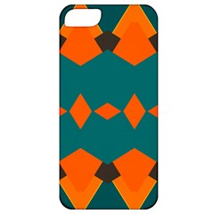 Rhombus And Other Shapes                                                                      apple Iphone 5 Classic Hardshell Case by LalyLauraFLM