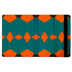 Rhombus And Other Shapes                                                                      			apple Ipad 3/4 Flip Case by LalyLauraFLM