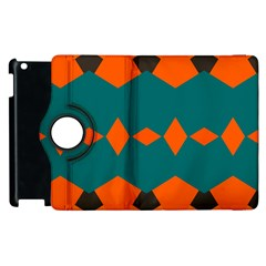 Rhombus And Other Shapes                                                                      apple Ipad 2 Flip 360 Case by LalyLauraFLM