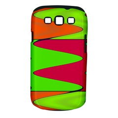 Wavy Design                                                                        			samsung Galaxy S Iii Classic Hardshell Case (pc+silicone) by LalyLauraFLM