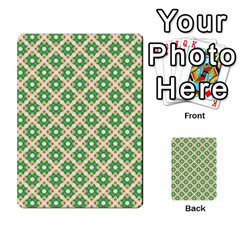 Crisscross Pastel Green Beige Multi Purpose Cards (rectangle)  by BrightVibesDesign