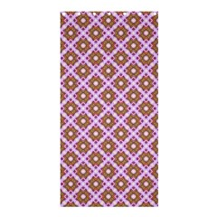 Crisscross Pastel Pink Yellow Shower Curtain 36  X 72  (stall)  by BrightVibesDesign