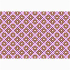 Crisscross Pastel Pink Yellow Collage Prints by BrightVibesDesign