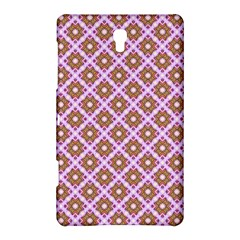 Crisscross Pastel Pink Yellow Samsung Galaxy Tab S (8 4 ) Hardshell Case  by BrightVibesDesign