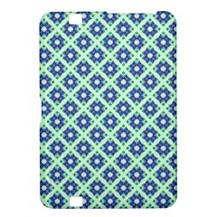 Crisscross Pastel Turquoise Blue Kindle Fire Hd 8 9  by BrightVibesDesign