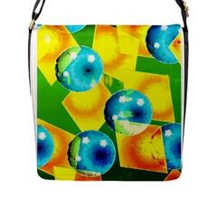 Colors Of Brazil Flap Closure Messenger Bag (l)