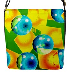 Colors Of Brazil Flap Closure Messenger Bag (small) by LetsDanceHaveFun