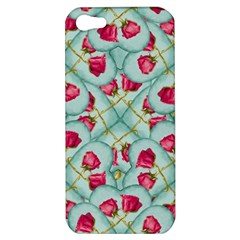 Love Motif Pattern Print Apple Iphone 5 Hardshell Case by dflcprints