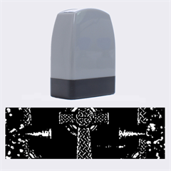 Purple Celtic Cross Name Stamps