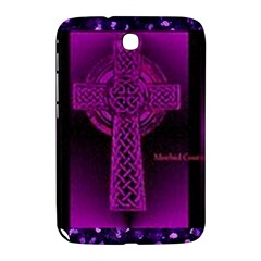 Purple Celtic Cross Samsung Galaxy Note 8 0 N5100 Hardshell Case  by morbidcouture