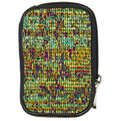 Multicolored Digital Grunge Print Compact Camera Cases by dflcprints