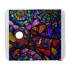 Fractal Stained Glass Samsung Galaxy S  III Flip 360 Case by WolfepawFractals