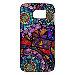 Fractal Stained Glass Galaxy S6 by WolfepawFractals