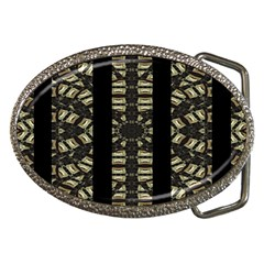 Vertical Stripes Tribal Print Belt Buckles by dflcprints