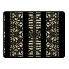Vertical Stripes Tribal Print Fleece Blanket (small) by dflcprints