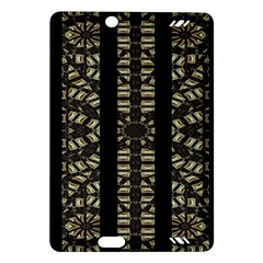 Vertical Stripes Tribal Print Amazon Kindle Fire Hd (2013) Hardshell Case by dflcprints