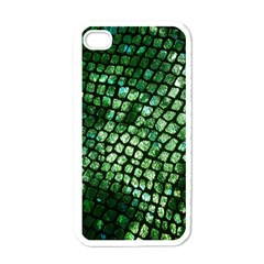 Dragon Scales Apple Iphone 4 Case (white) by KirstenStar