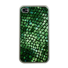 Dragon Scales Apple Iphone 4 Case (clear) by KirstenStar