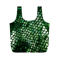 Dragon Scales Full Print Recycle Bags (m)  by KirstenStar
